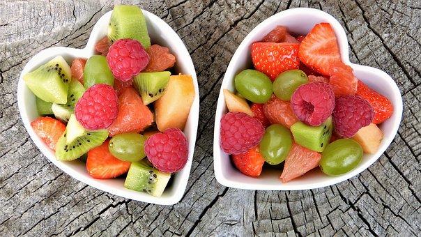 Gesundes Herz aus Obst