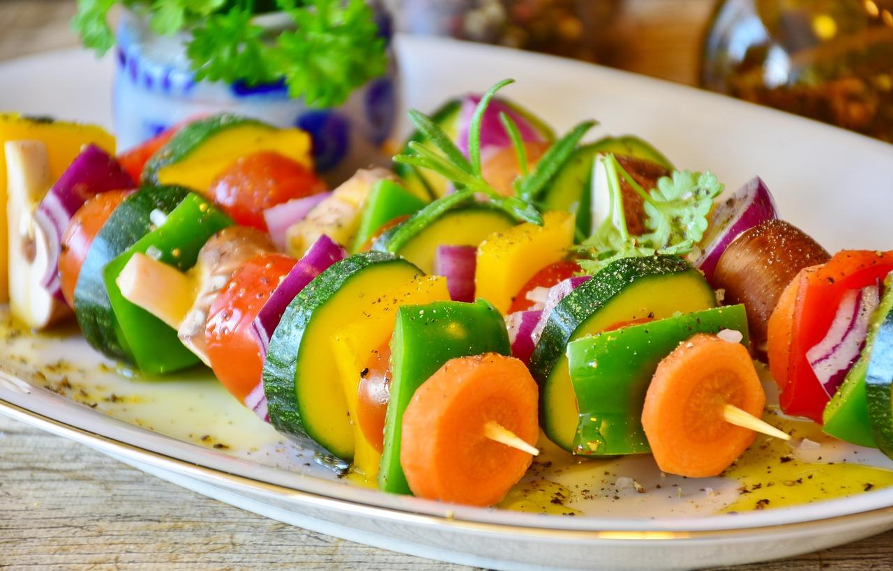 Gericht für gesunde Ernährung