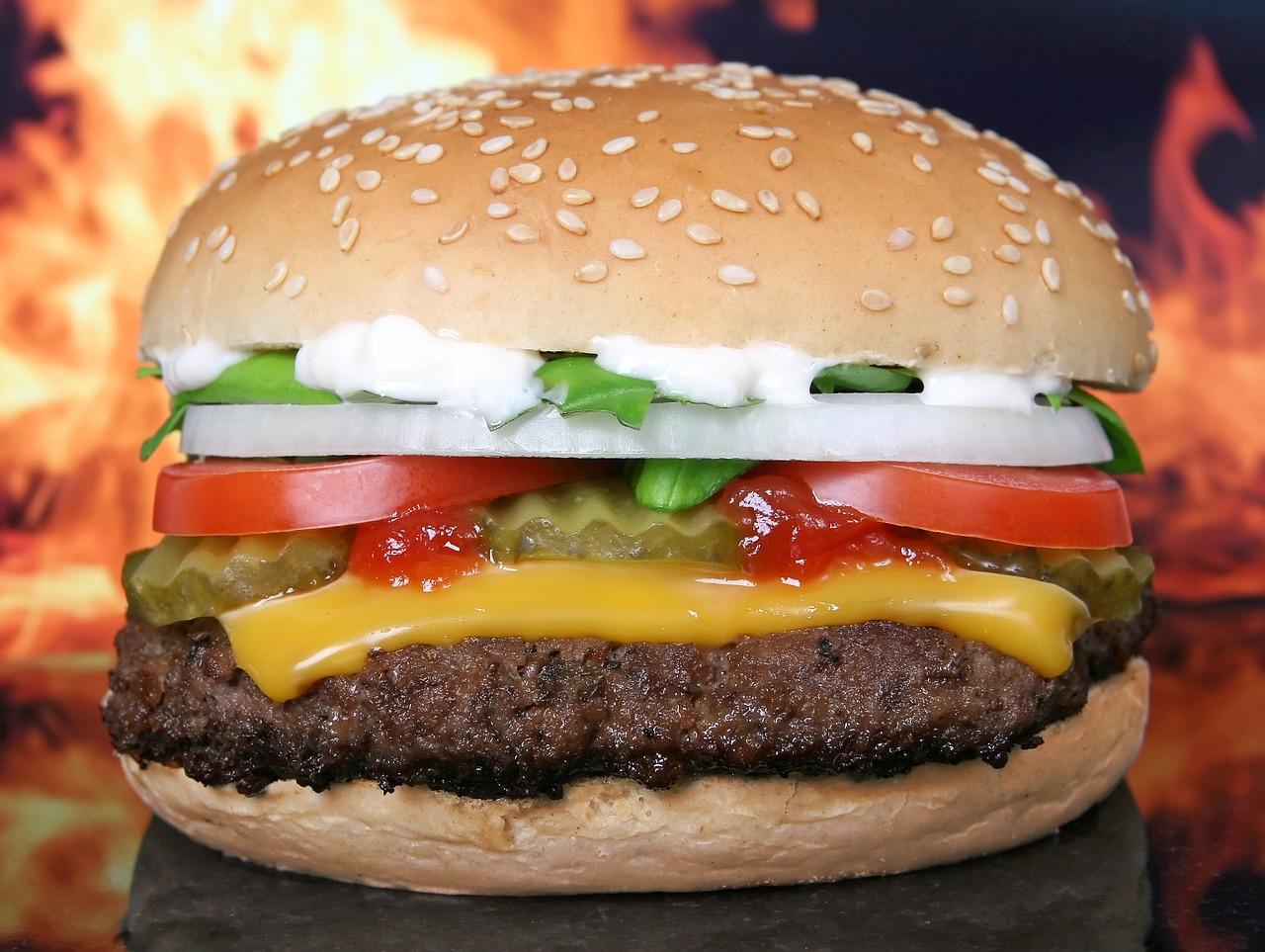 Fast Food sollte nicht zu einer gesunden Ernährung gehören