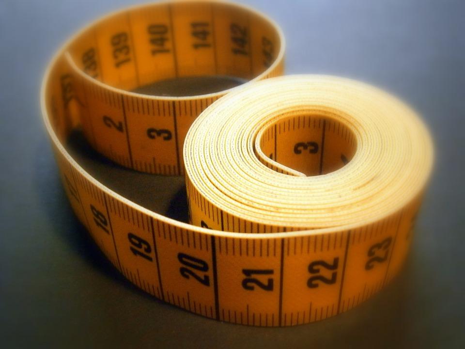 BMI errechnen durch Maßband
