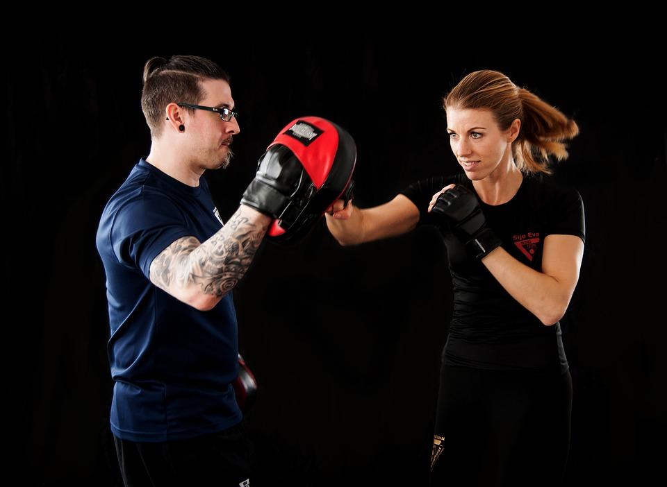 Gesund abnehmen durch Kampfsport