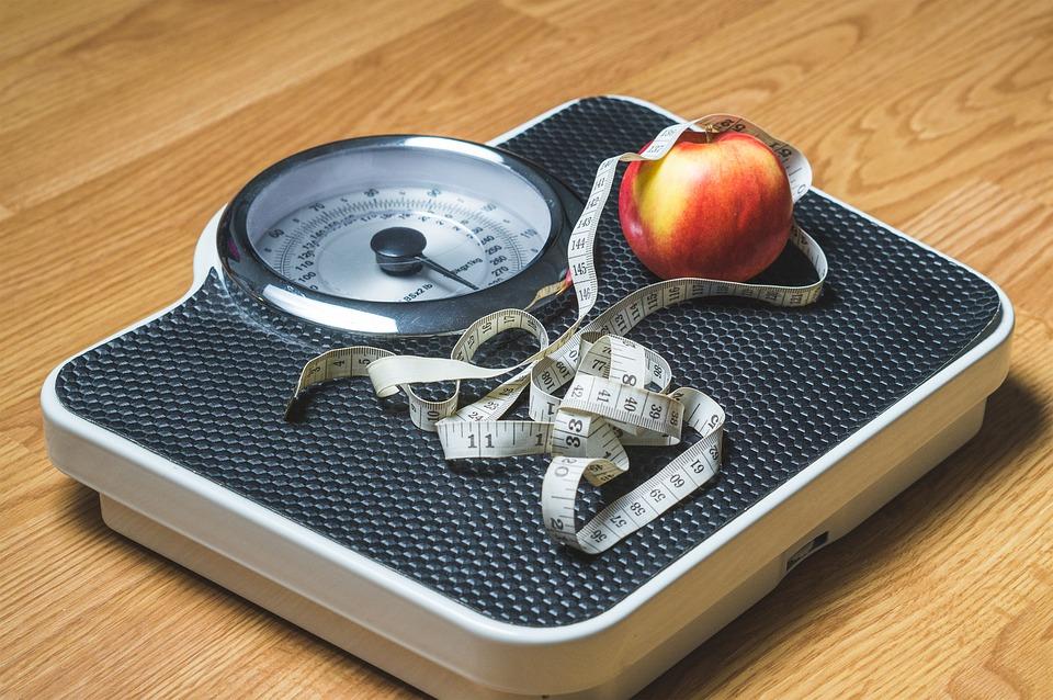 Gewichtsstagnation auf der Waage