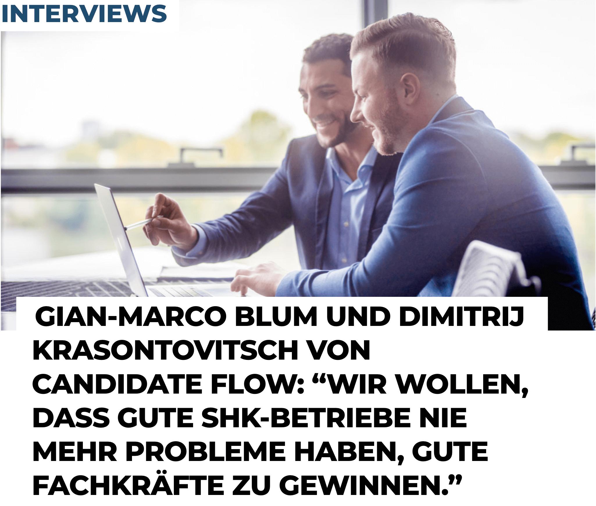 Unternehmerjournal Candidate Flow GmbH