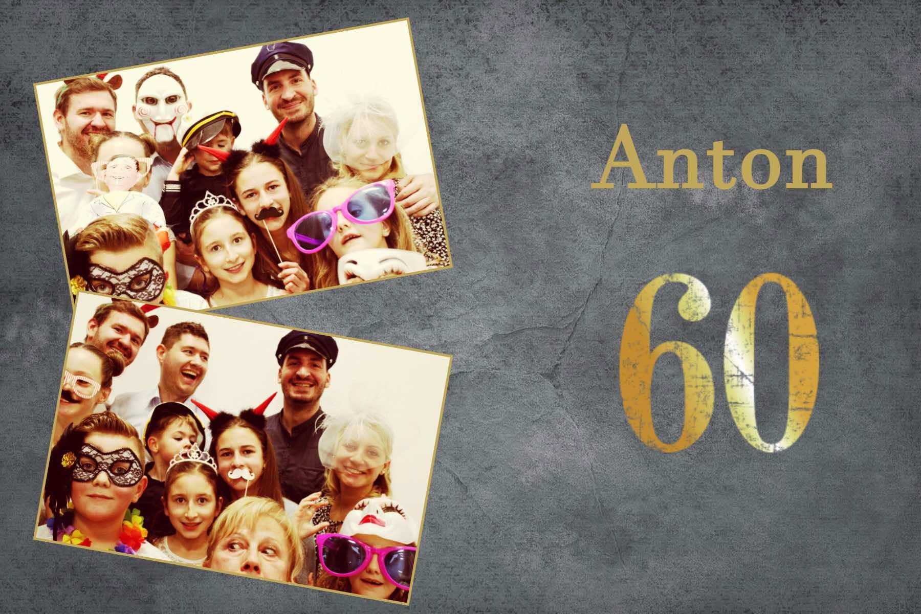 Antons 60er Geburtstag