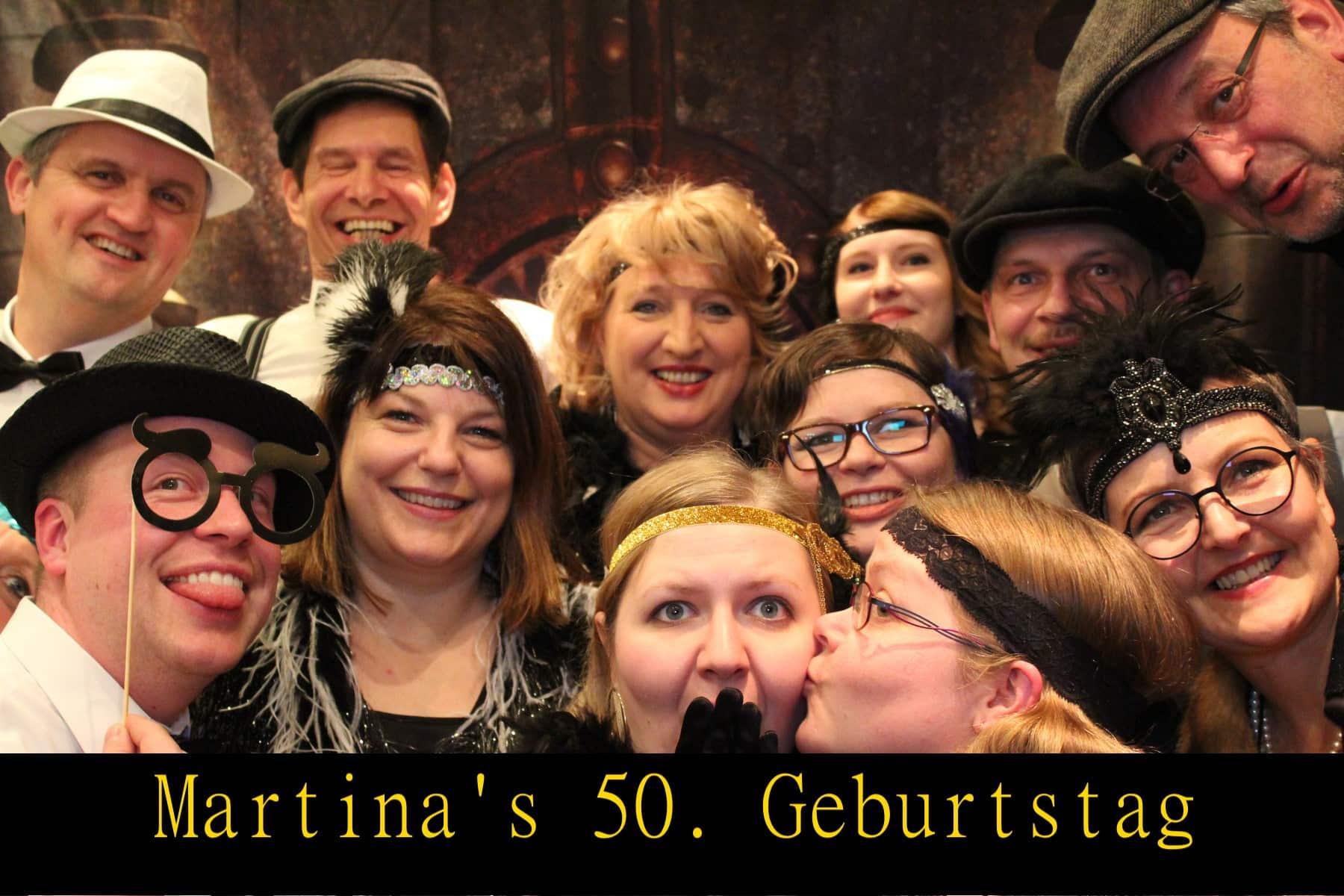 Martinas 50. Geburtstag