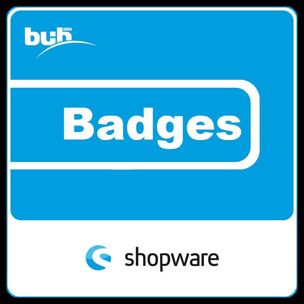 Individuelle Badges für Shopware 5
