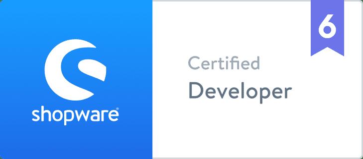 Shopware 6 Certified Developer BuI Hinsche GmbH