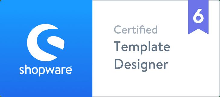 Shopware 6 Certified Template Designer  BuI Hinsche GmbH