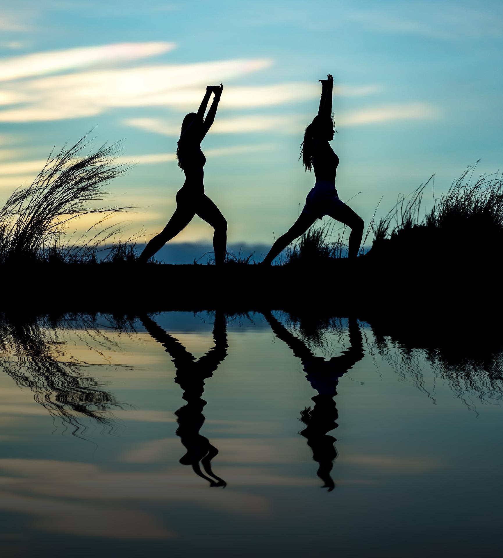 Meditation-Yoga-Frauen