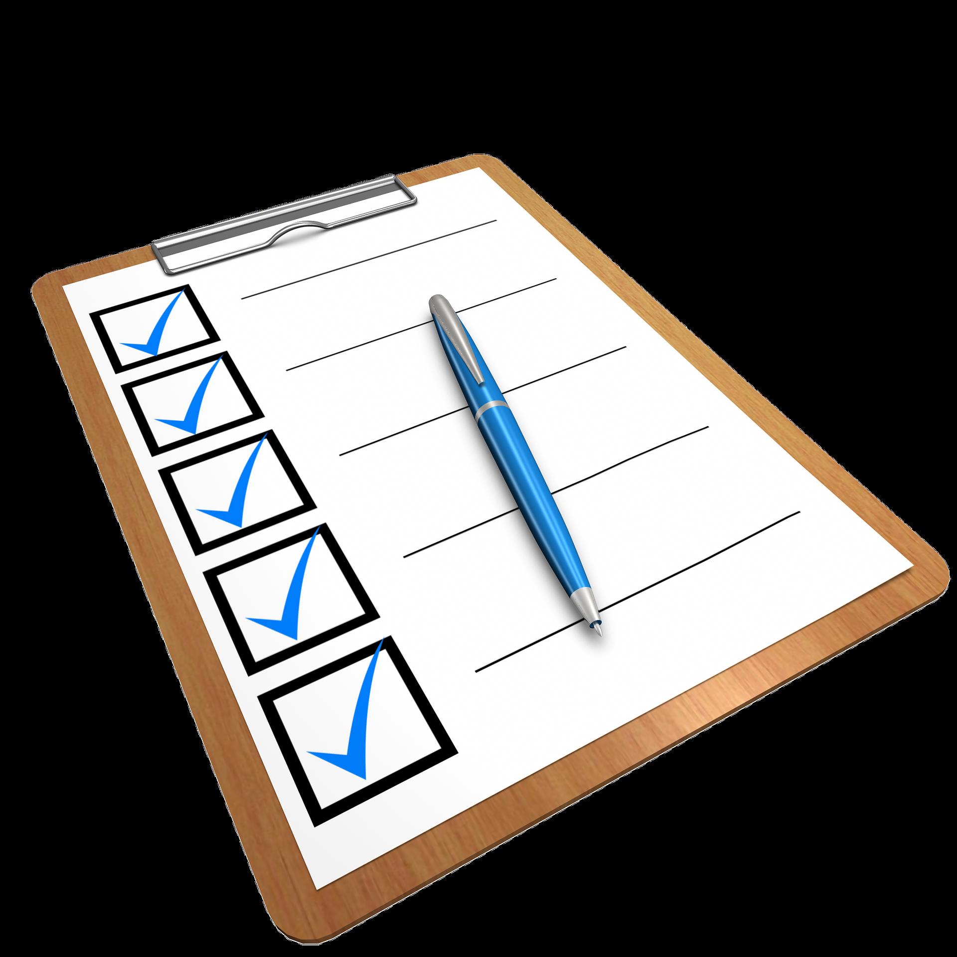 Checkliste-Todoliste