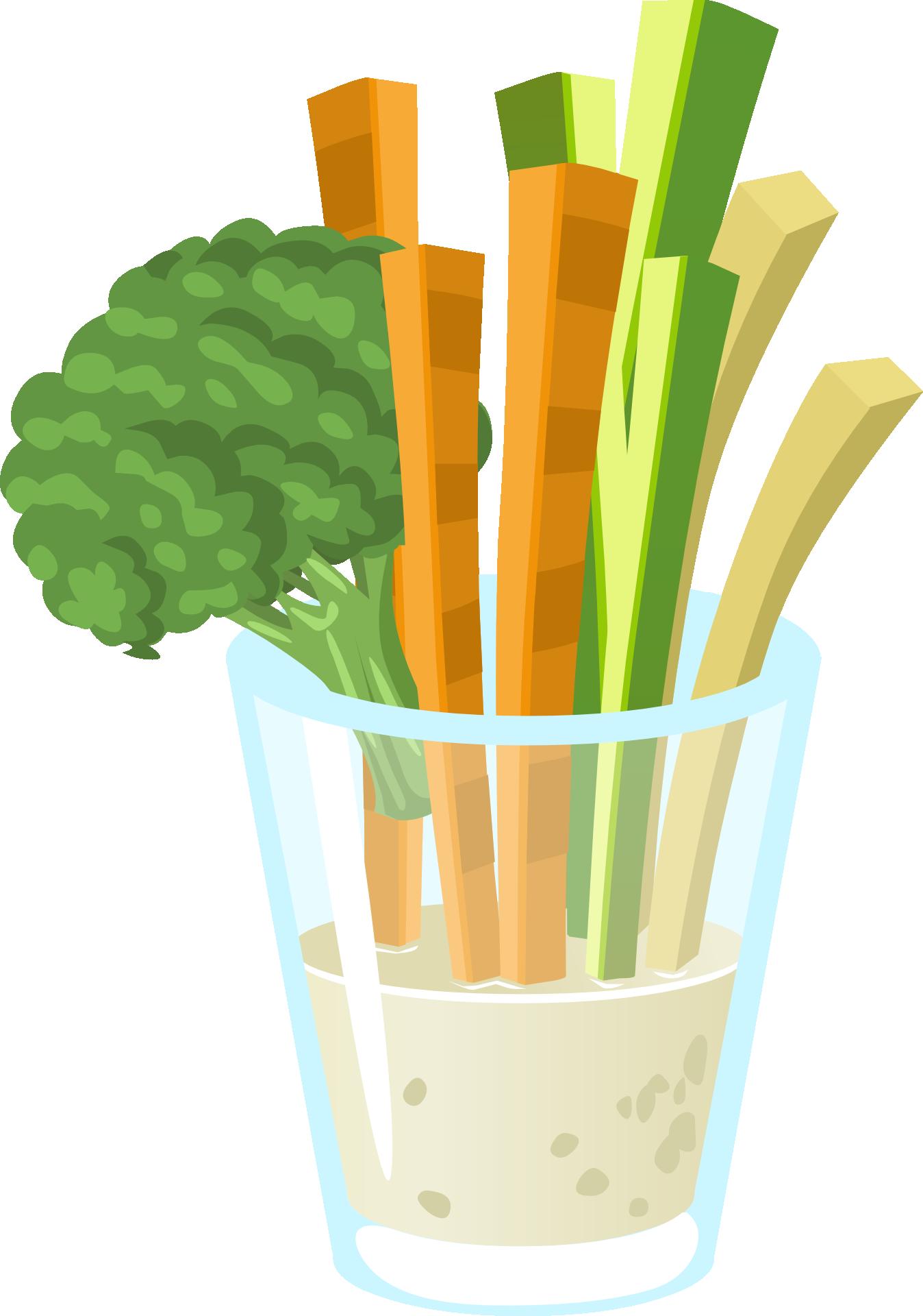 Gesunde Gemüse Snacks