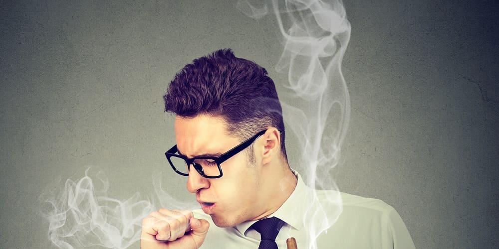 Raucherhusten Loswerden