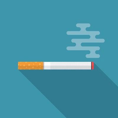 Zigarette in digitalem Design