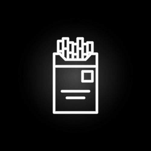 Touch-Icon: Zigarettenschachtel