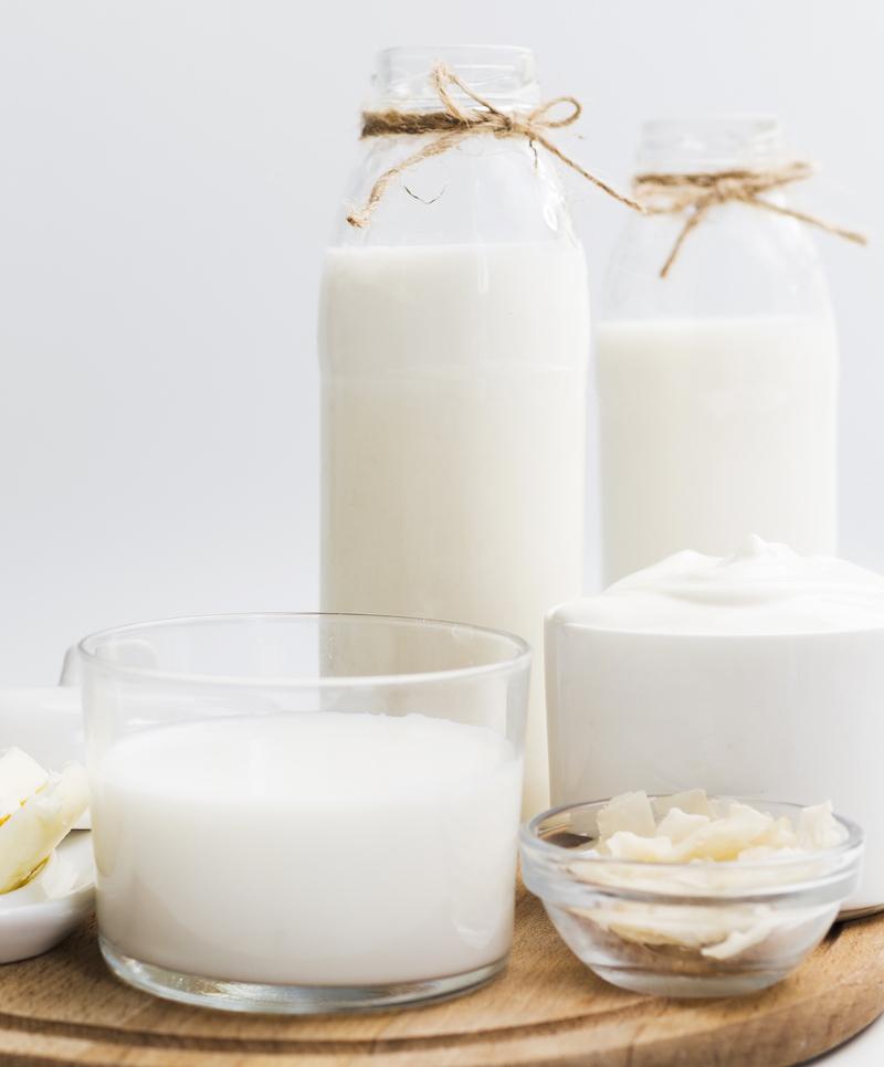low card lebensmittel milch joghurt Magerquark Sojamilch Sojajoghurt ohne Kohlenhydrate