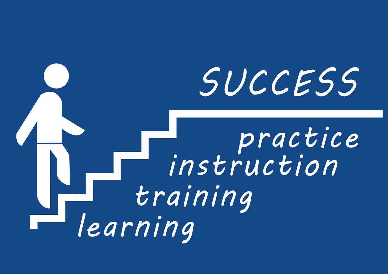 Die Treppe zum eigenen Erfolg