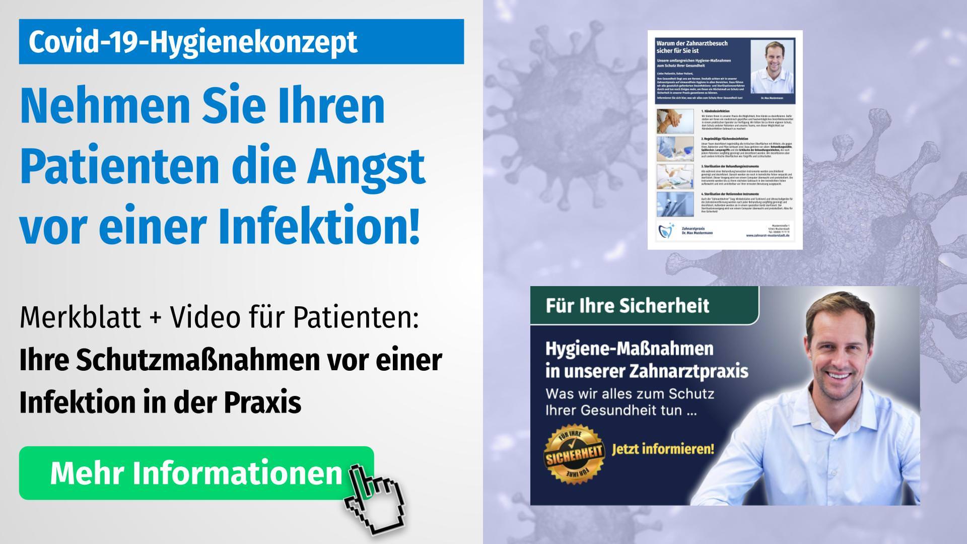 Info Hygiene-Schutzmaßnahmen Corona
