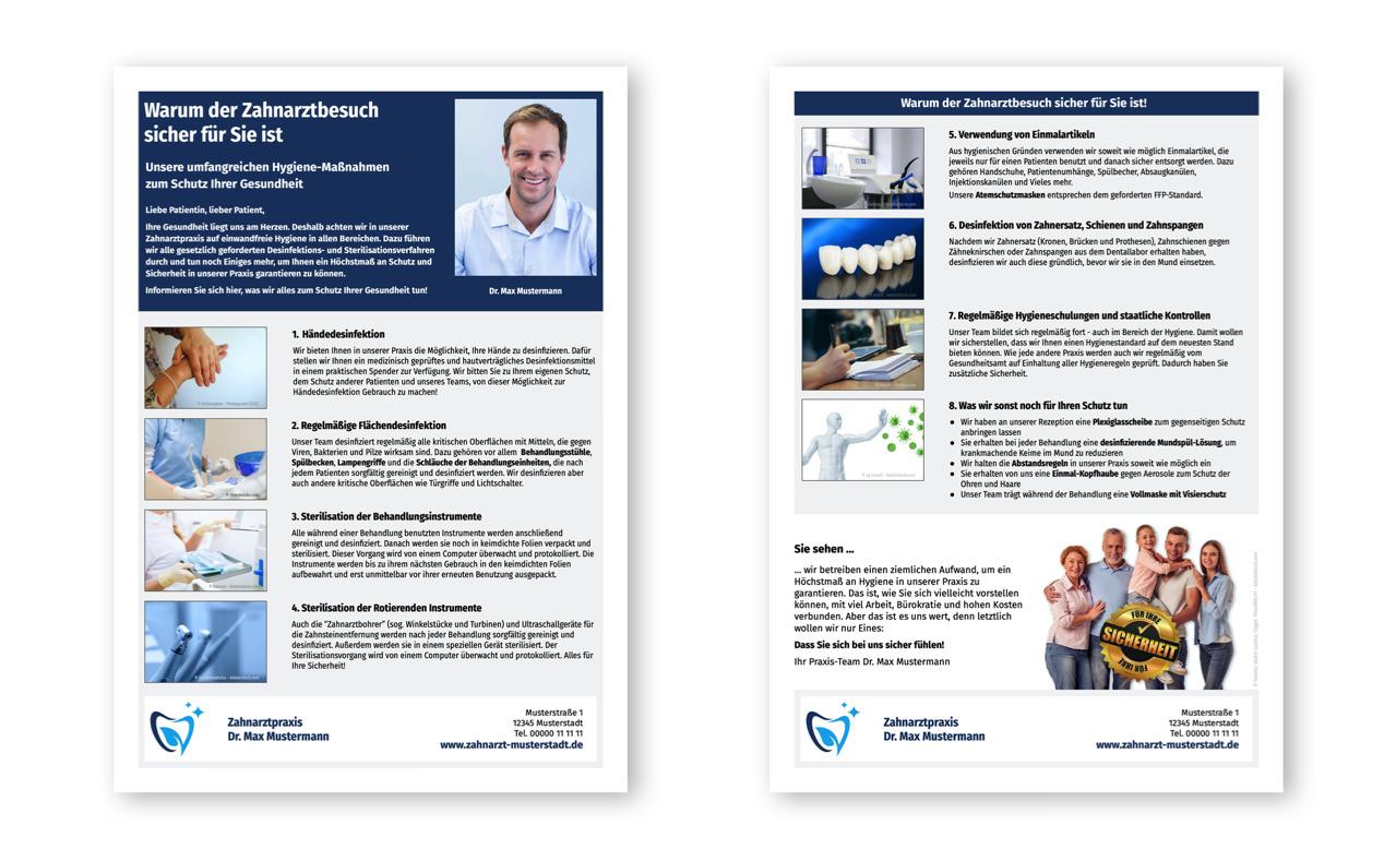Hygiene-Info für Patienten