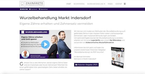 Wurzelbehandlung Indersdorf, Zahnarzt Michael Schindler