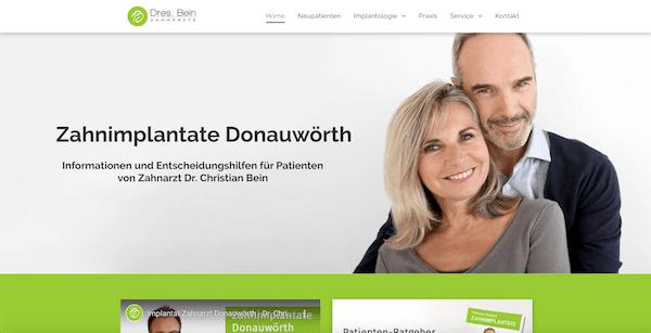 Zahnimplantate Donauwörth, Dr. Christian Bein