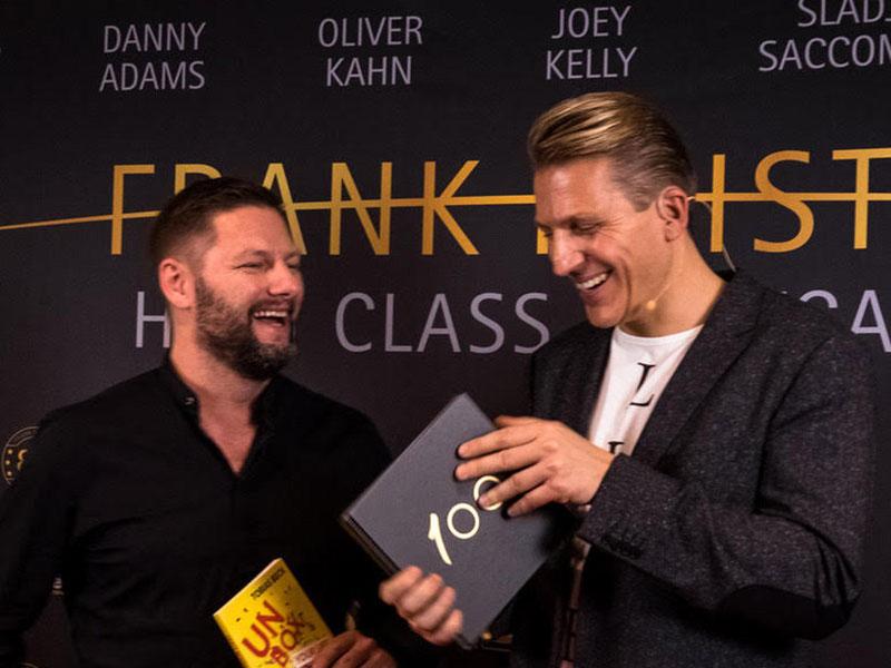 Frank Heister mit Tobias Beck