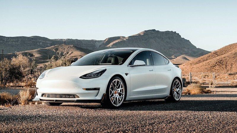 Tesla in der Wüste