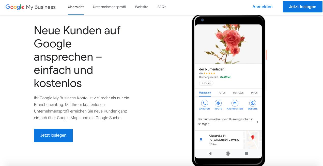 Firma bei Google eintragen - So tragen Sie Ihr Unternehmen ein!