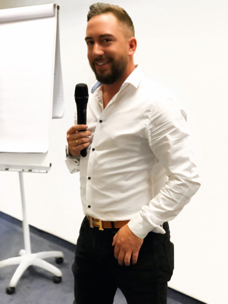 Daniel Caballero beim Seminar