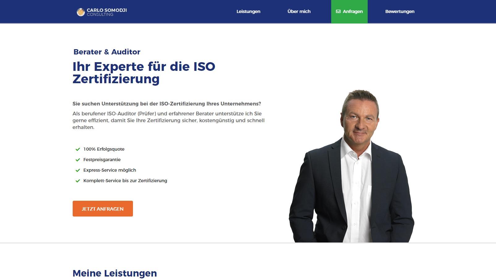 Carlo Somodji Consulting - ISO Experte