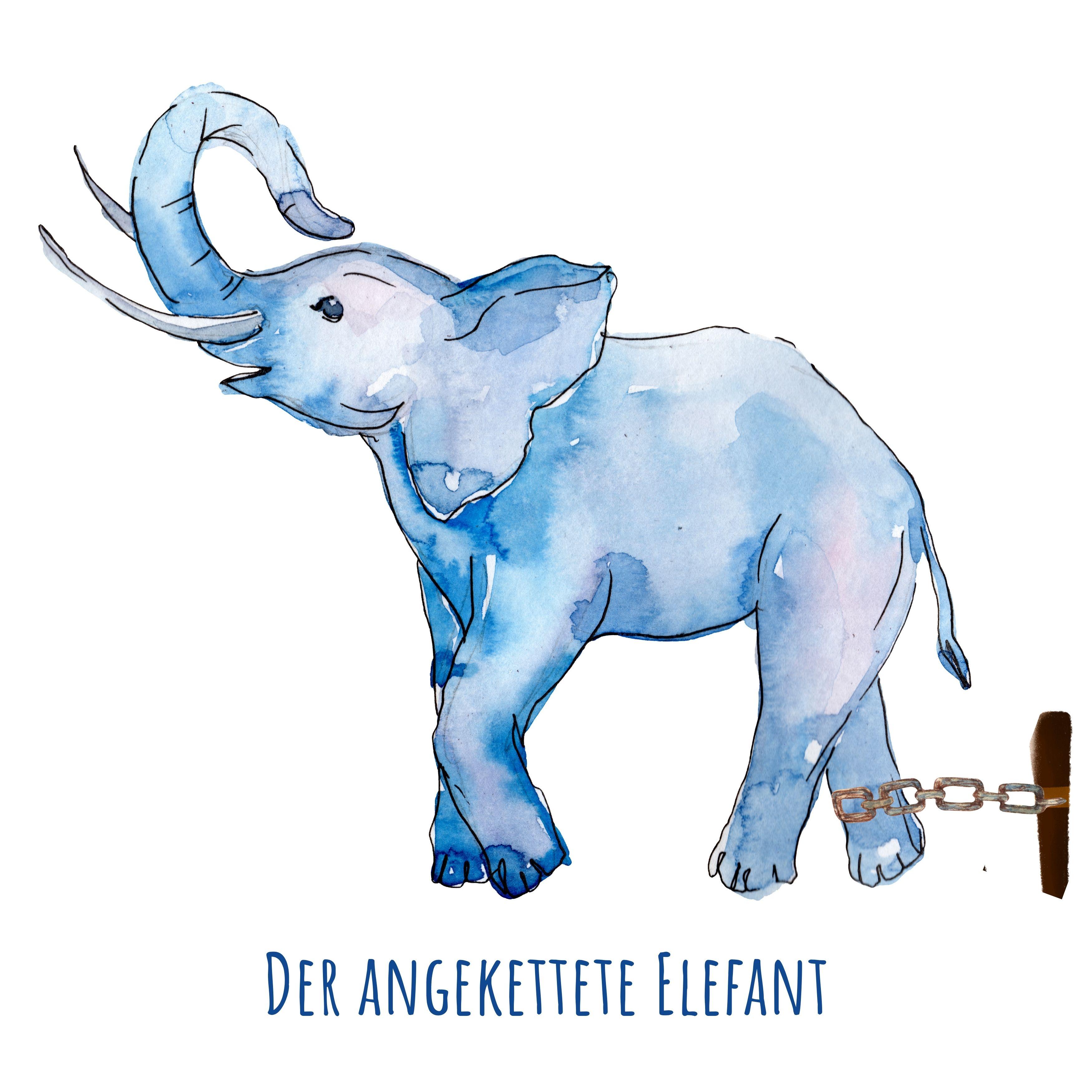 Kurzgeschichte| Der angekettete Elefant