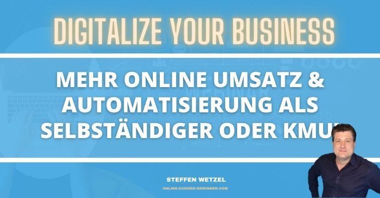 Mehr Umsatz pro Kunde für Dein Unternehmen oder Dein selbständiges Business - So geht's!