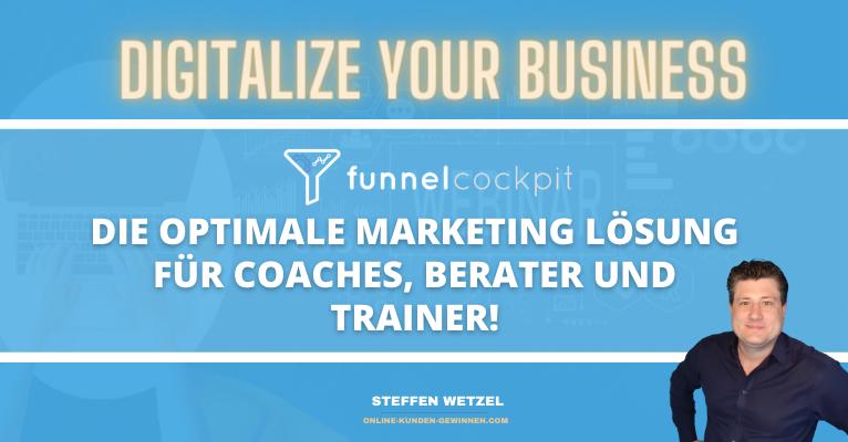 Funnelcockpit für Coaches und Berater - Das Funnel Marketing Tool für Dein All in One Marketing