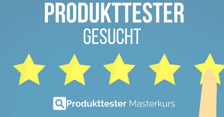 Produkttester gesucht 2018 - Aktuelle Aktionen für neue Produkttests