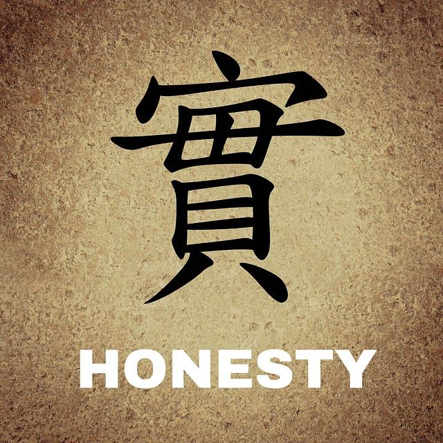 Ehrlichkeit