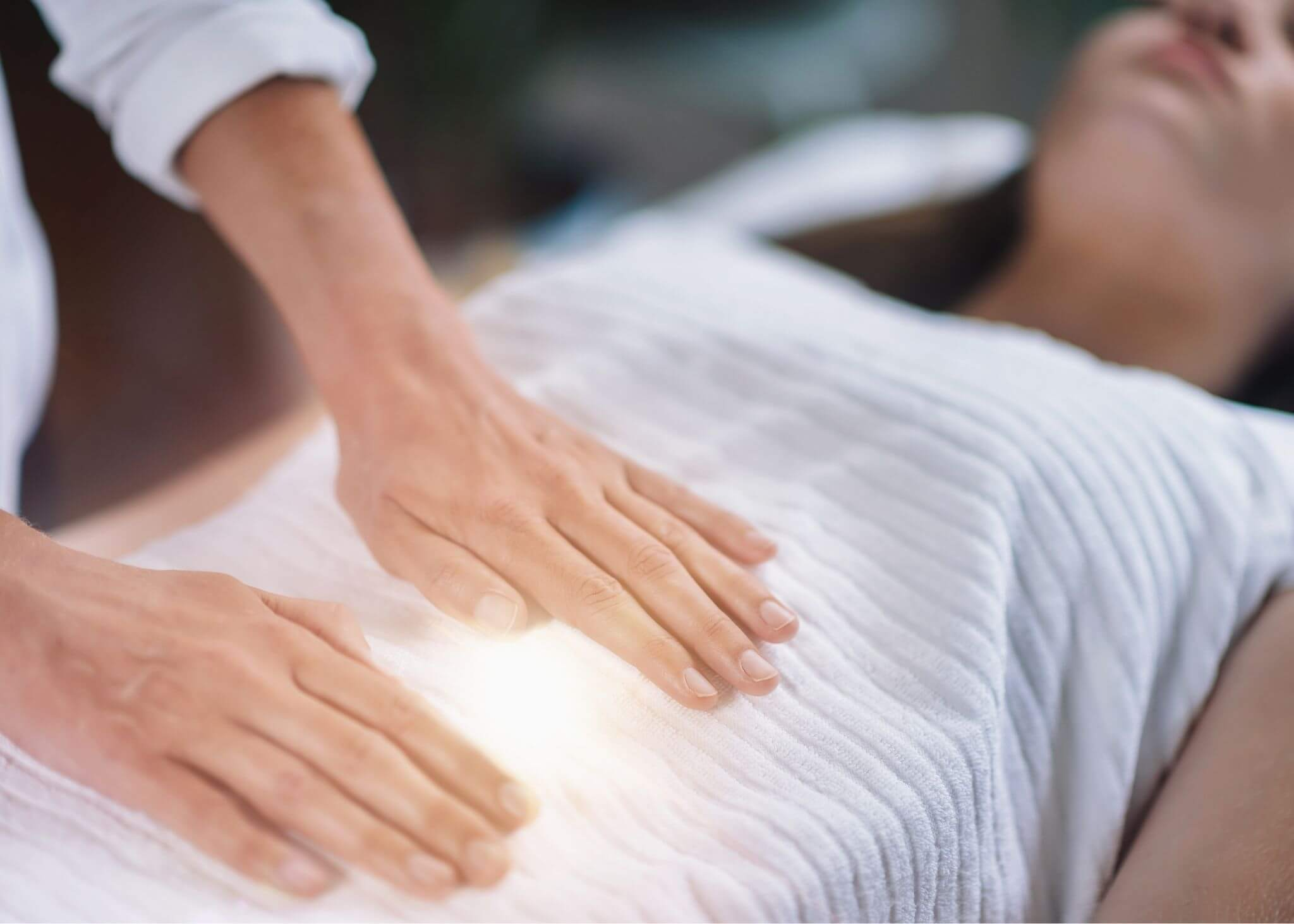 heilende Hände Frau
