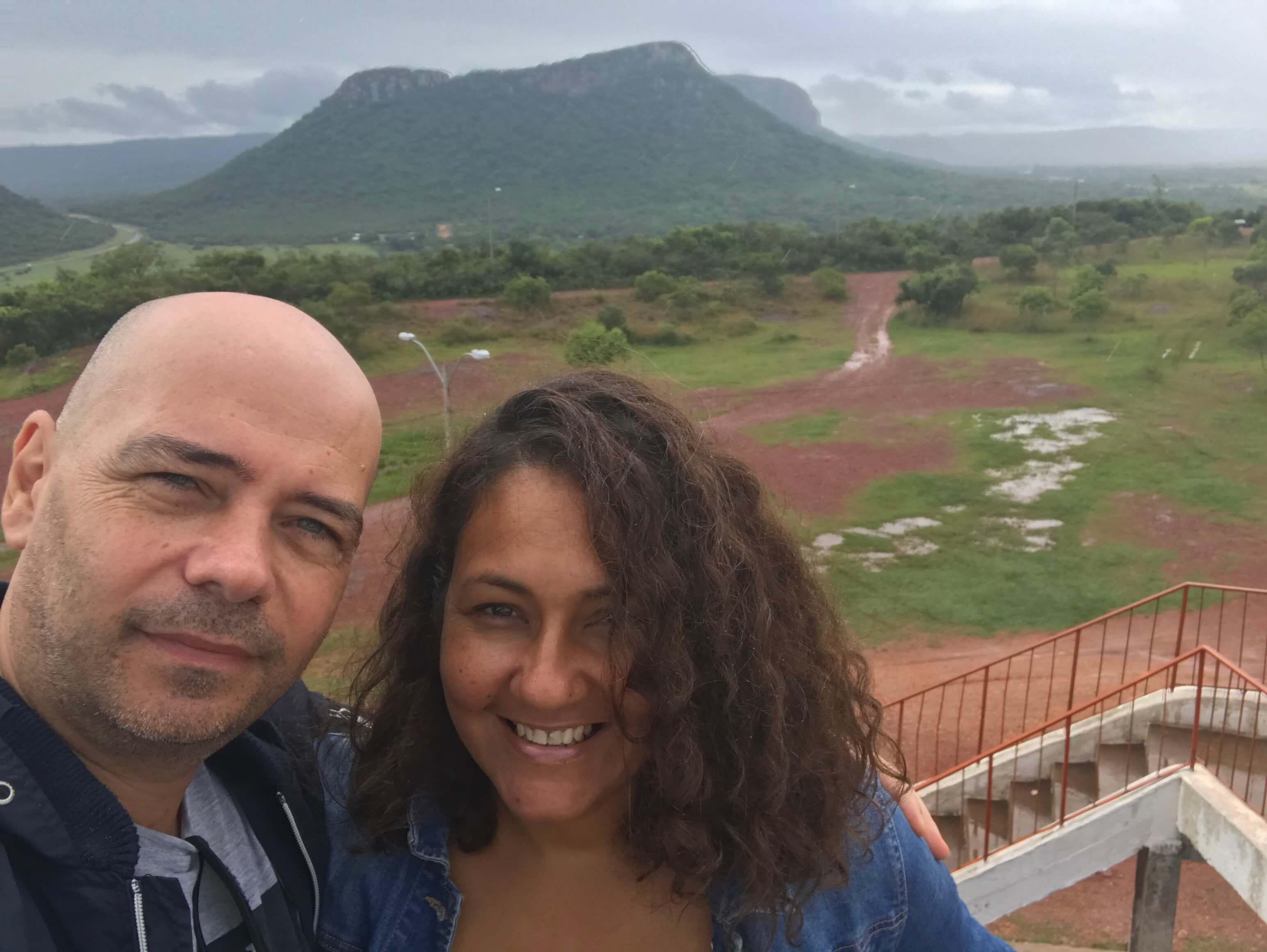 Rudolf Grafe mit Frau in Paraguay
