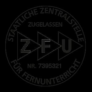 ZFU Siegel für staatliche Zulassung