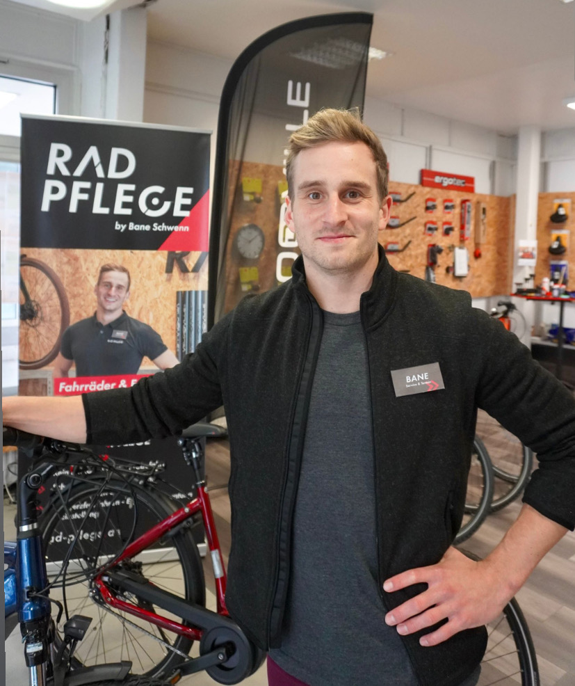 Rad.Pflege Pinneberg E-Bike Bane Schwenn