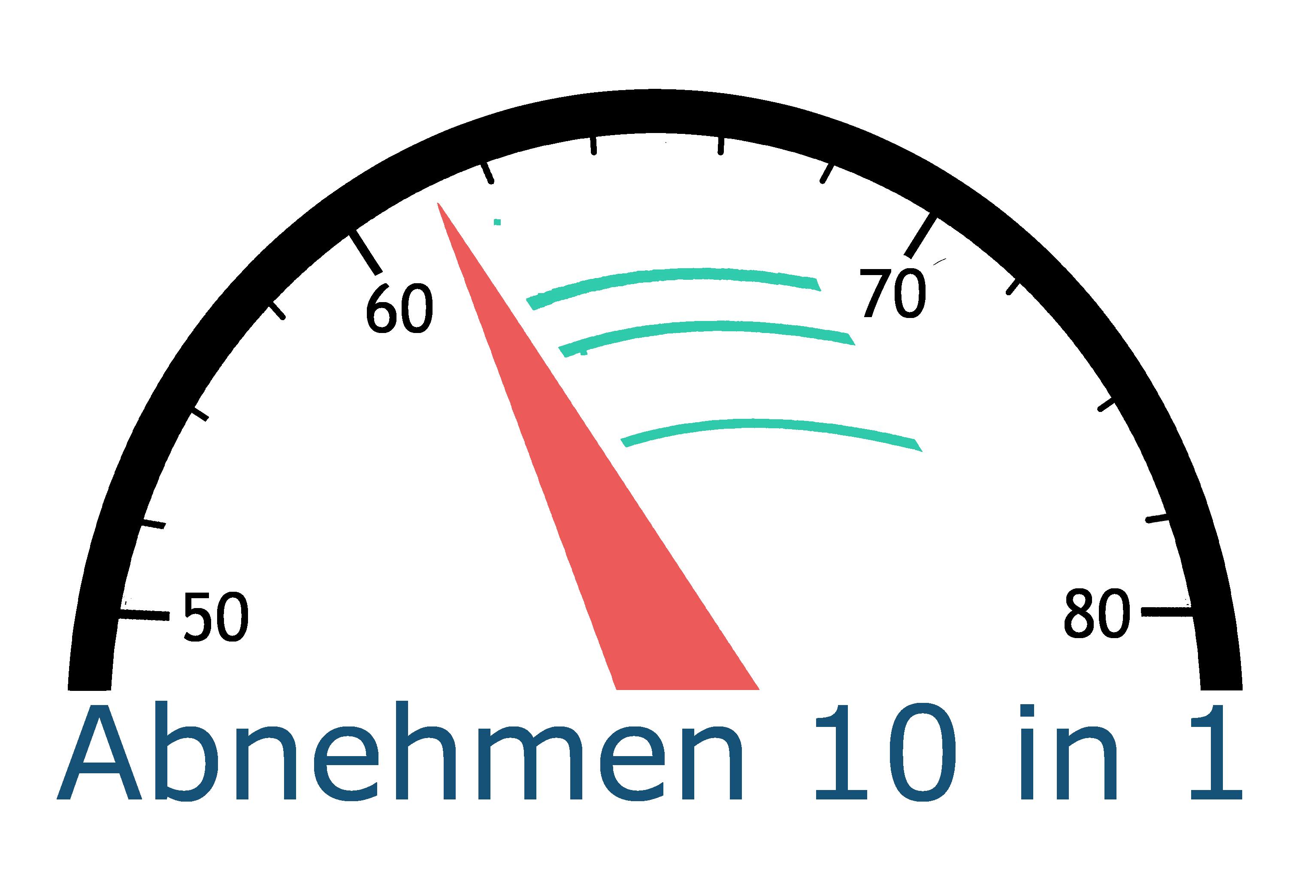 Abnehmen 10 in 1 Logo