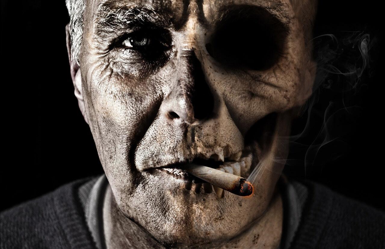 Das sind die Folgen von Rauchen.