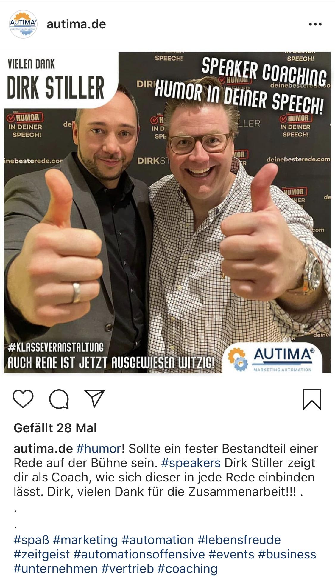 René Tzschoppe über Dirk Stiller