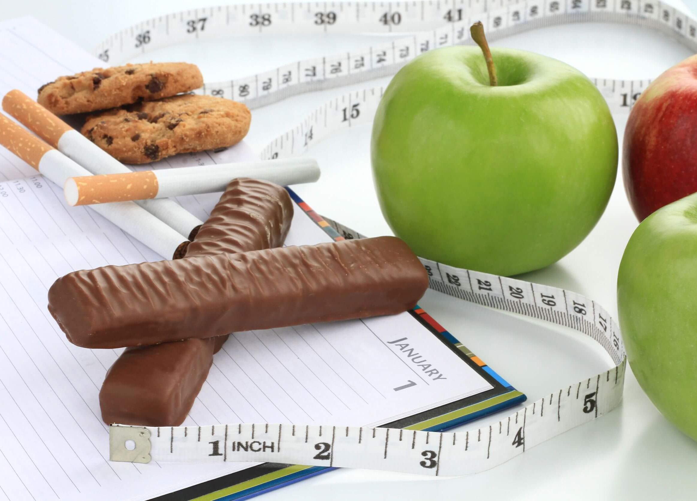 Rauchen aufhören, Gewicht zunehmen verhindern
