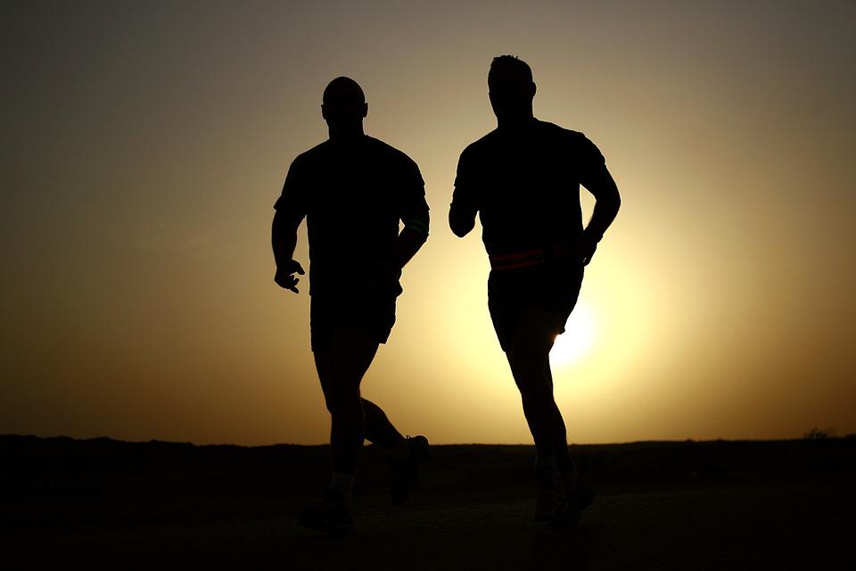 Laufen beim Abnehmen