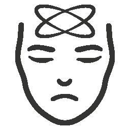Depressionen Symbol