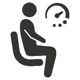 Hämorrhoiden durch langes Sitzen