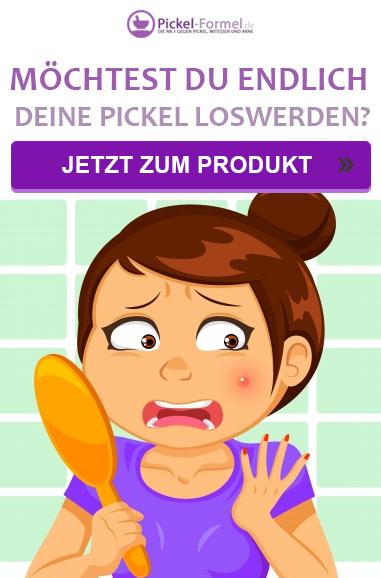 Was hilft gegen Pickel?