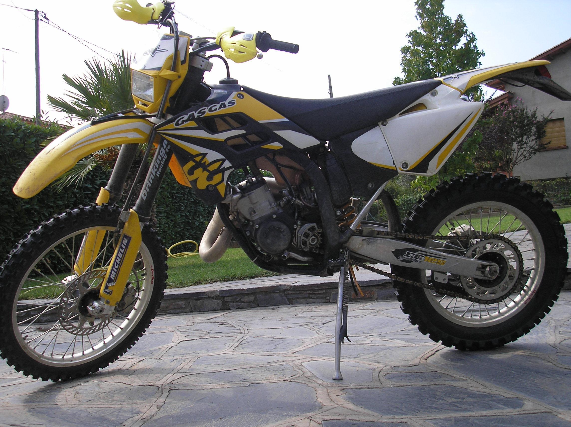 Gasgas ec 125 - 125er Enduro