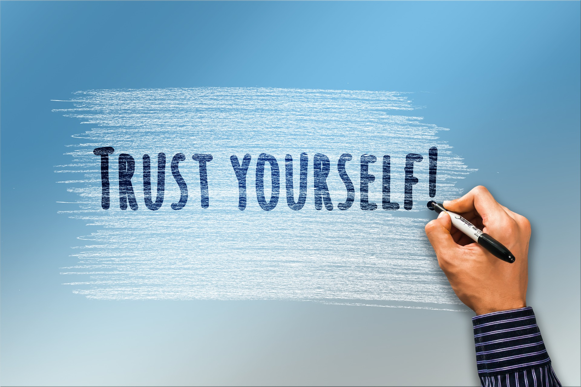 Selbstliebe führt zu Selbstbewusstein
