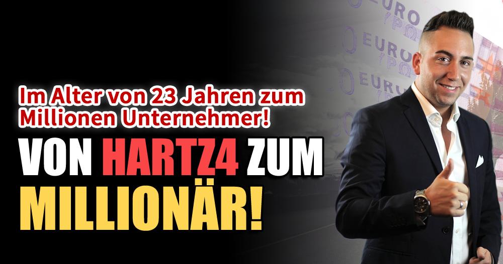 Vom Hartz4-Empfänger zum Internetmillionär