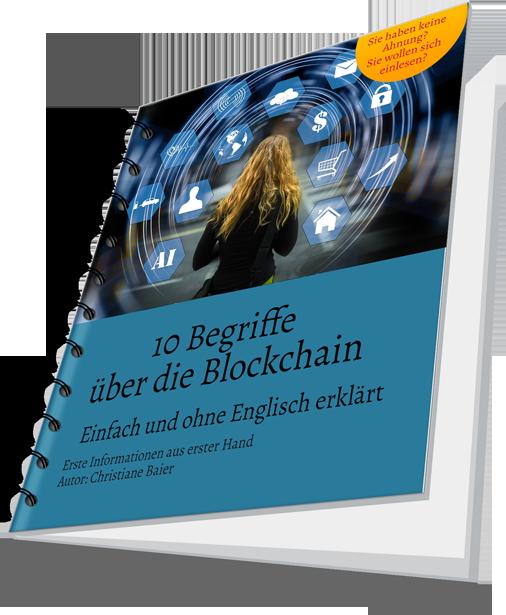 Mein erstes E-Book: 10 Begriffe der Blockchain auf Deutsch erklärt